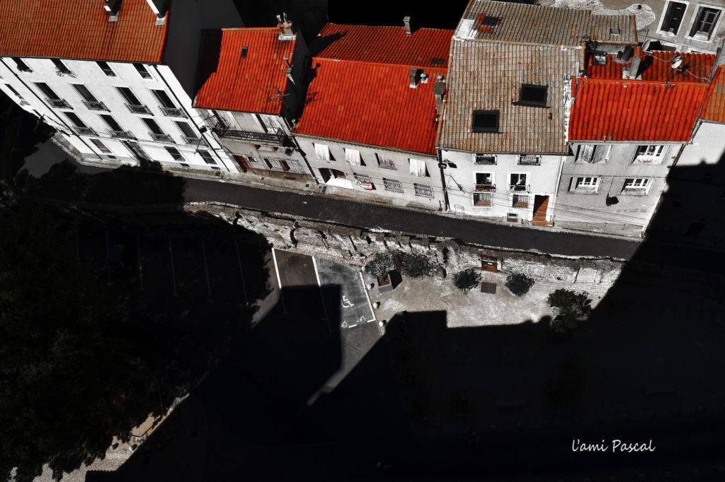 photographie toit Béziers perspective