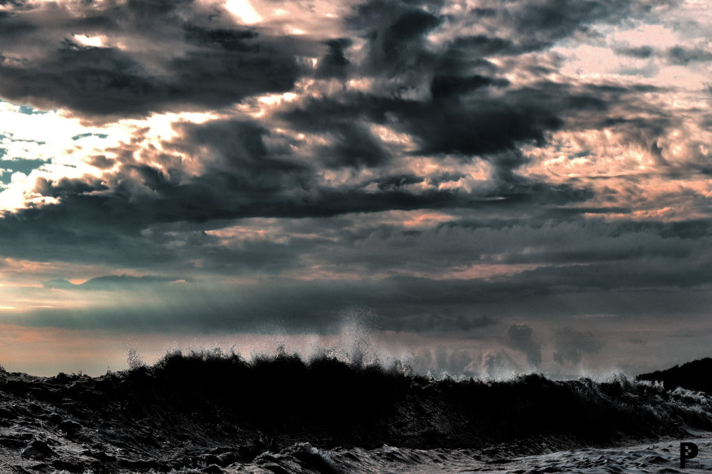 vagues mer paysages